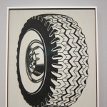 Tire, 1962, Oil paint in Canvas, The Museum of Modern Art of New York