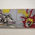 Whaam!,1963, Acrylic paint and oil paint on canvas, Tate, purchased 1966