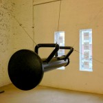 When Attitudes Became Form Become Attitudes - Claire Fontaine, Untitled (Suspended Battering Ram), 2011