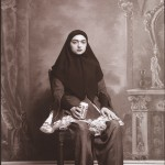 Shadi Ghadirian, dalla serie Qajar, 1998, Art Fund Collection of Middle Eastern Photography at the V&A and the British Museum