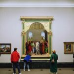 Thomas Struth, The National Gallery 1, London, 1989