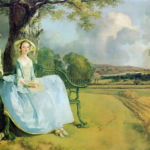 Thomas Gainsborough, Mr and Mrs Andrews, 1750. © The National Gallery, Londra
