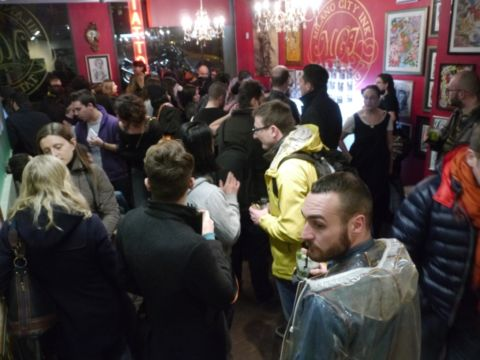 Absolut Blank Edition @ Milano City Ink