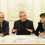Daniel Libeskind - Never say the Eye is Rigid: Architectural Drawings - conferenza stampa