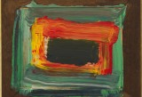 Howard Hodgkin, Night, 2011-2012 - Photo by Prudence Cuming Associates - Courtesy Gagosian Gallery