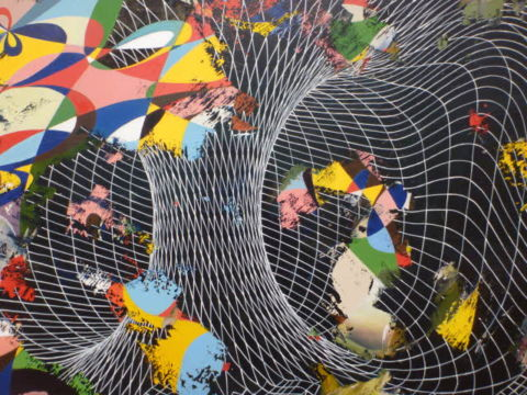 Keith Tyson, Curves of an infinite order - particolare, 2012