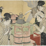 Kitagawa Utamaro, Kitchen Scene, 1794-95 - Courtesy Minneapolis Institute of Arts