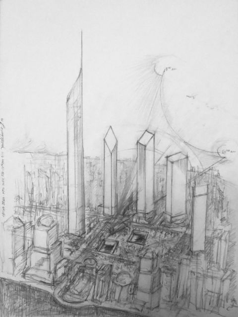 Daniel Libeskind, Word Trade Center, 2003