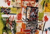 Jean-Michel Basquiat, Despues de un puno, 1987