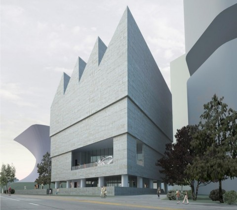 Museo Jumex, Città del Messico - copyright David Chipperfield Architects
