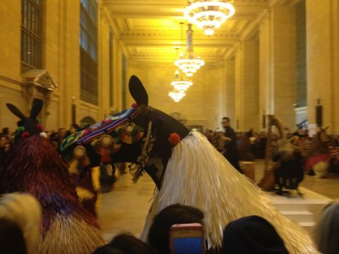 Nick Cave, I Heard New York, Grand Central Station, New York 5