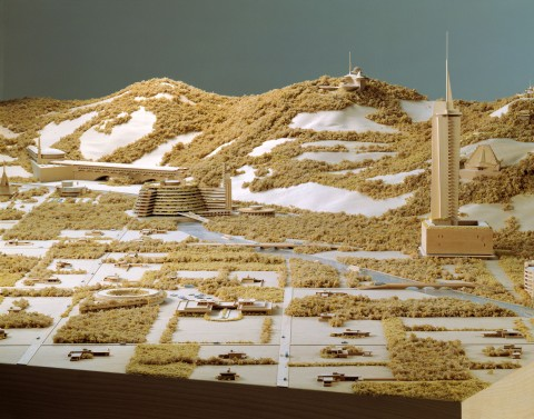 Frank Lloyd Wright, Living City, 1959