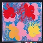 Andy Warhol, Flowers, 1970 - collezione Bank of America Merrill Lynch - © The Andy Warhol Foundation for the Visual Arts