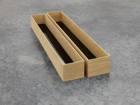 Becky Beasley, Trough Box, 2010, Courtesy Laura Bartlett, London and Francesca Minini, Milano