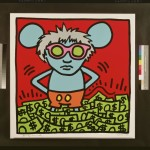 Keith Haring & Andy Warhol, Andy Mouse, 1986 - collezione Bank of America Merrill Lynch - © Keith Haring Foundation