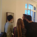 Emanuele Becheri @ Drome project space, opening7
