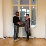 Emanuele Becheri @ Drome project space, opening8