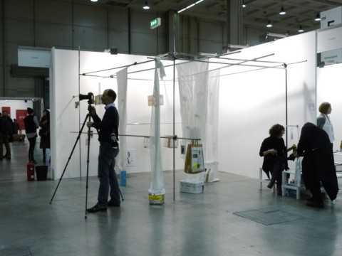 Lo stand Fluxia a Miart 2013