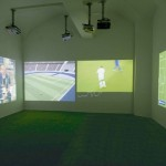 Harun Farocki – Deep Play installation view – courtesy Galleria Poggiali e Forconi, Firenze 2013
