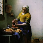 Jan Vermeer, La lattaia, 1659