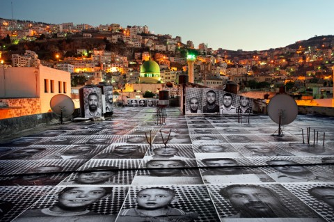 JR, Inide Out / Naplouse, Palestine - 2012 @JR