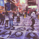 JR, Inside Out / New York, Times Square