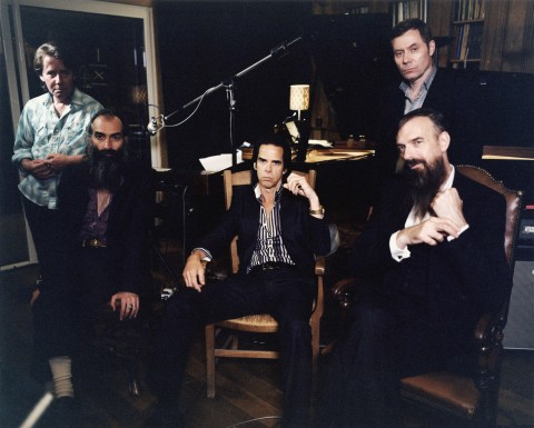 Nick Cave con i suoi Bad Seeds