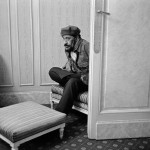 Sonny Rollins nella sua suite all'hotel Royal Monceau - Parigi 1993 - © Guy Le Querrec / Magnum Photos