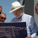 Renzo Piano in cantiere
