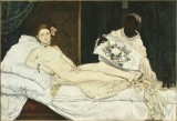 douard Manet, Olympia, 1863 - Parigi, Muse dOrsay - photo  Muse d&#039;Orsay, Dist. RMN-Grand Palais / Patrice Schmidt