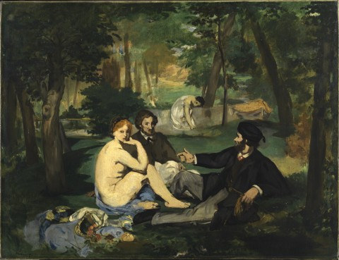 Édouard Manet, Le Déjeuner sur l'herbe, 1863 ca. - Londra, Courtauld Institute Galleries - © The Samuel Courtauld Trust
