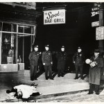 Weegee, Unidentified Photographer - On the Spot, 9 dicembre 1939