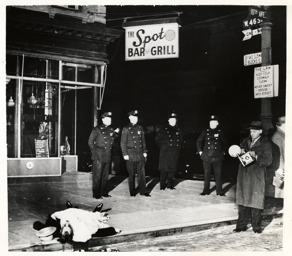 Weegee unidentified photographer – on the spot 9 dicembre 1939