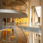6 Helical Stair connects upper and lower Lobbies - Russia Magazine-Anatoly Belov