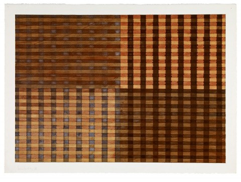 Sean Scully, Untitled, 1975, Courtesy Neo Neo Inc, New York, Photo © Sean Scully