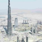 Philippe Chancel, Emirates Project (Construction de la tour Burj Khalifa), 2007-2010