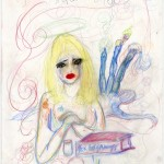 Courtney Love - Foxes Book of Martyrs -  courtesy dell'artista e della Fred Torres Collaborations