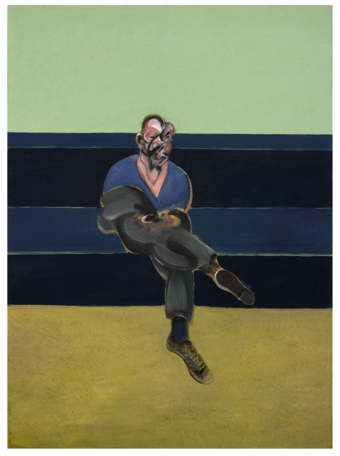 Francis Bacon - Study for a Portrait of P.L, 1962