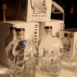 Le bottiglie di Crystal Head - foto Michela Deponti