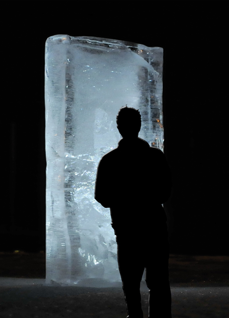 Stefano Cagol, The Ice Monolith