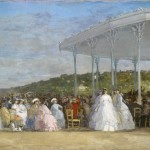 Eugène Boudin, Concert au casino de Deauville, 1865 - Washington, National Gallery of Art, Collection of Mr. And Mrs. Paul Mellon © Courtesy National Gallery of Art, Washington
