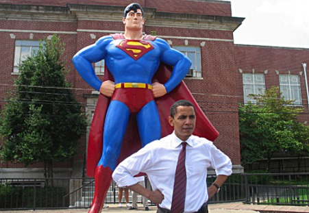 Barack Obama e Superman