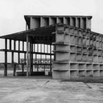 Le Corbusier, Tower of Shadows, Chandigarh, 1957
