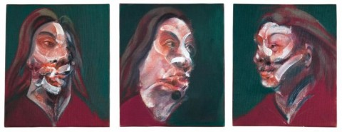 Francis Bacon - Three studies of Isabel Rawsthorne