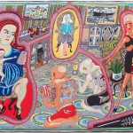 Grayson Perry, The Adoration of the Cage Fighters, 2012 - Arts Council Collection, Southbank Centre London and British Council. Gift of the artist and Victoria Miro Gallery with the support of Channel 4 Television, The Art Fund and Sfumato Foundation with additional support from AlixPartners © Grayson Perry