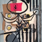 Robert Motherwell, Jeune Fille, 1944 - Collezione privata - © Dedalus Foundation, Inc/Licensed by VAGA, New York, NY