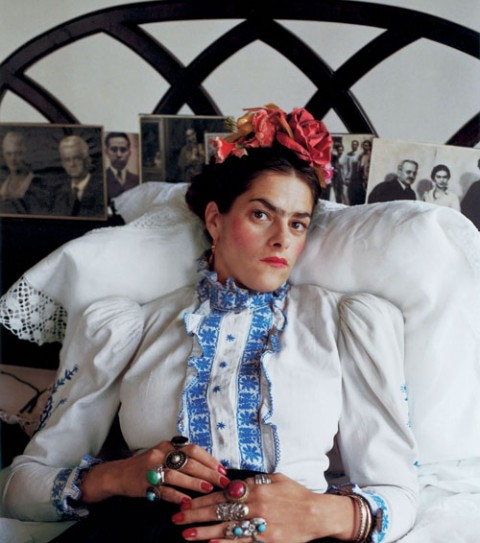 Tracey Emin come Frida Kahlo, by Mary McCartney