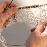 Delphine Lucielle, The process (Knitting)