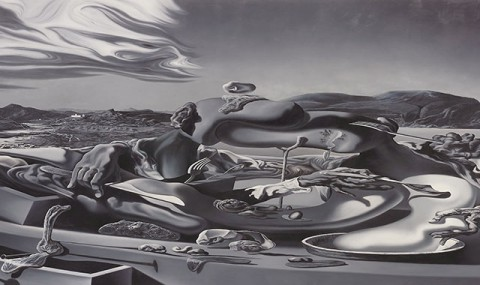 Glenn Brown,  Oscillate Wildly (after 'Autumnal Cannibalism' 1936 by Salvador Dalí), 1999
