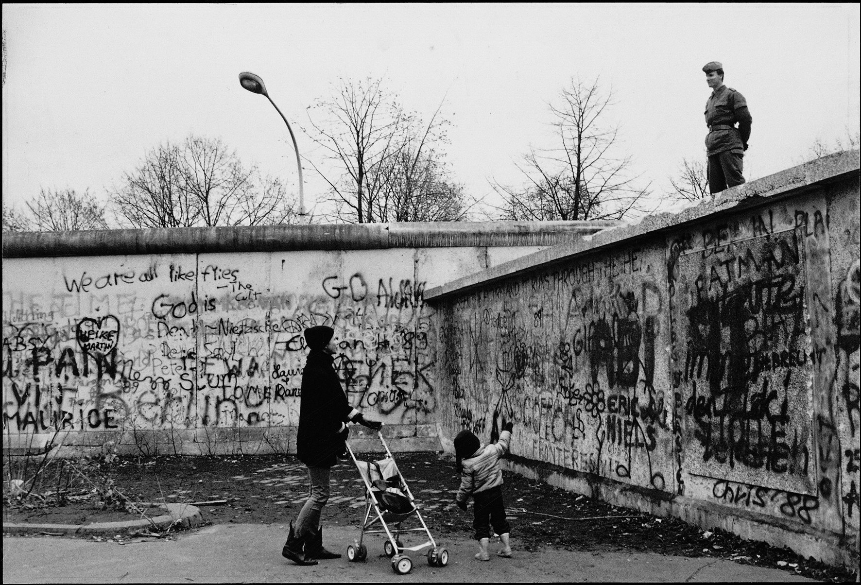 east german leader during berlin wall